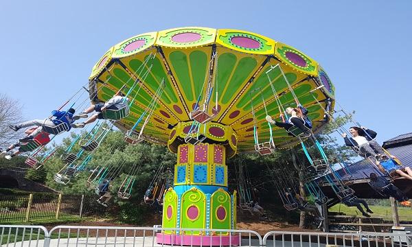 Outside Rides At The Castle Fun Center The Castle Fun Center