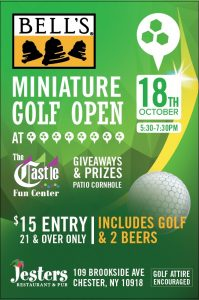 Bell's Miniature Golf Open @ The Castle Fun Center | Chester | New York | United States