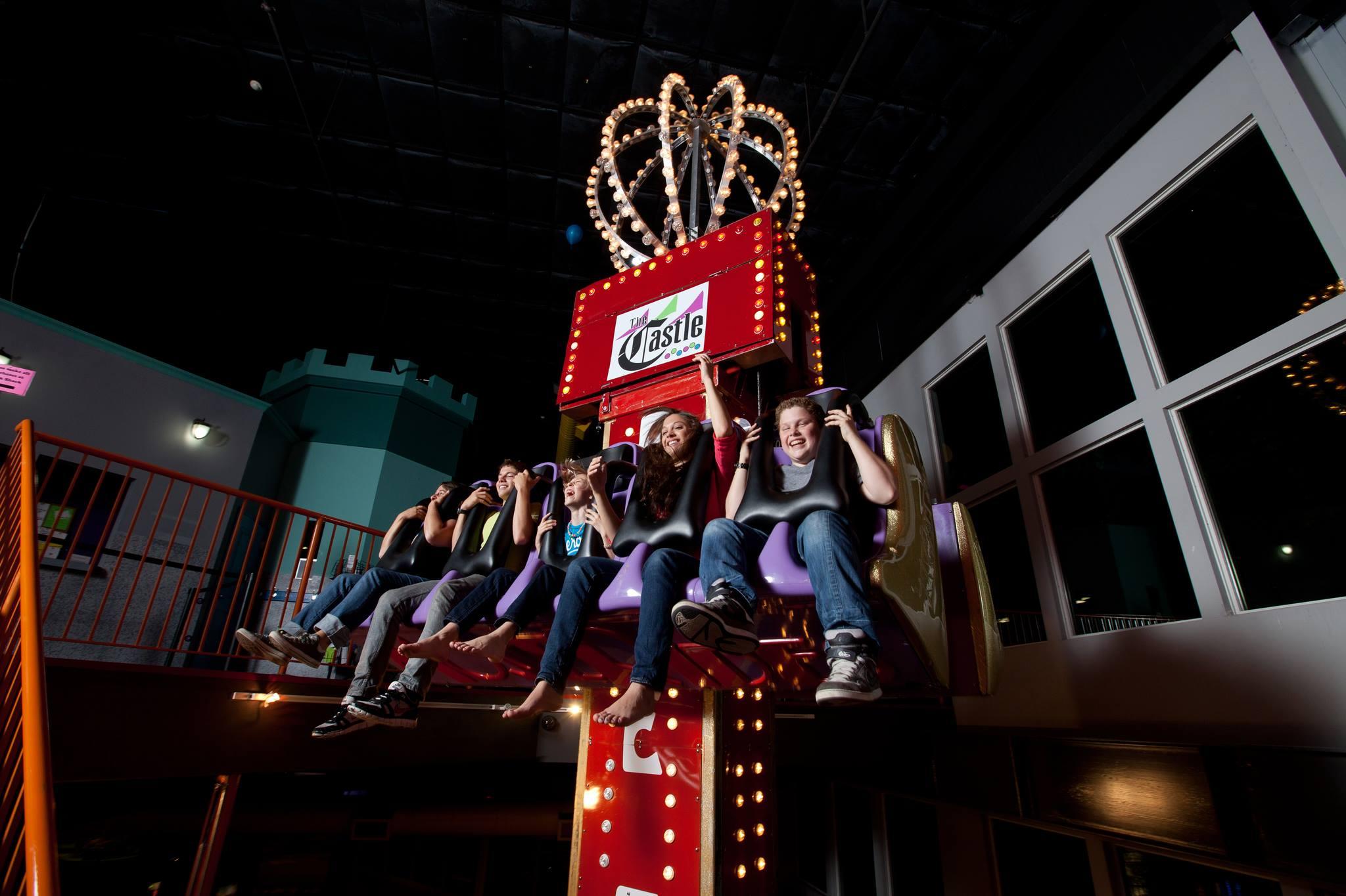 castle-fun-center-free-fall-ride