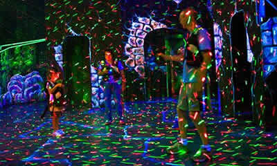 Laser Tag The Castle Fun Center Ny Nj
