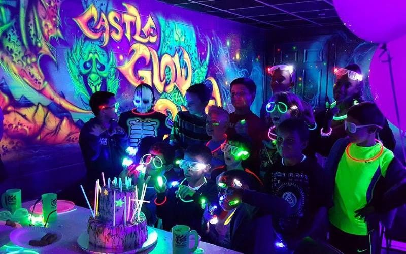 Glow Party Room Amp Private Party Room Options The Castle