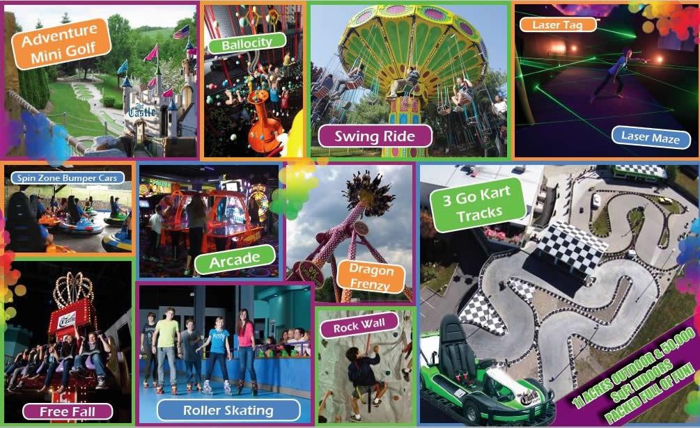 All Castle Fun Center Activities