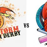 Fire Storm Roller Derby vs South Jersey Roller Derby The Castle Fun Center Oct 2018