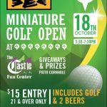 Bells Mini Golf Tournament The Castle Fun Center