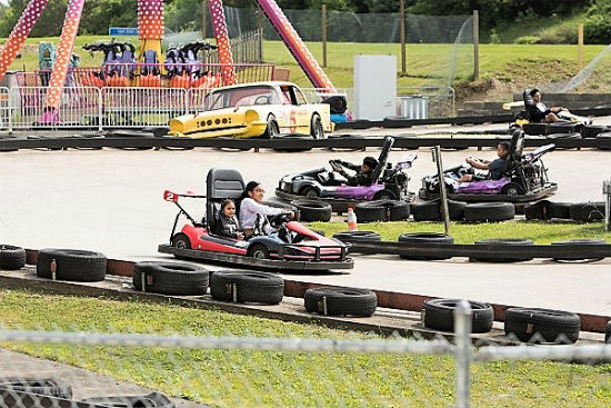Go Karts At The Castle Fun Center