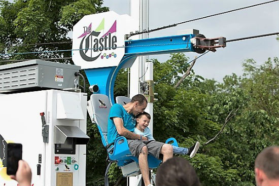 Zip Line At The Castle Fun Center Chester NY