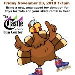 Skate Your Turkey Off 2018 Flyer at The Castle