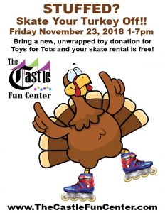 Skate Your Turkey Off! @ The Castle Fun Center | Chester | New York | United States