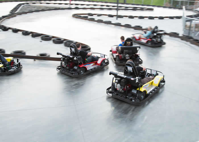 Go Karts - The Castle Fun Center
