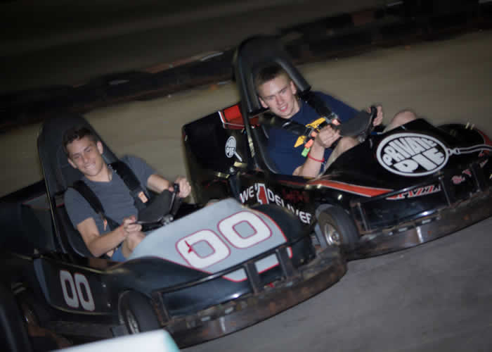 Go Karts - The Castle Fun Center